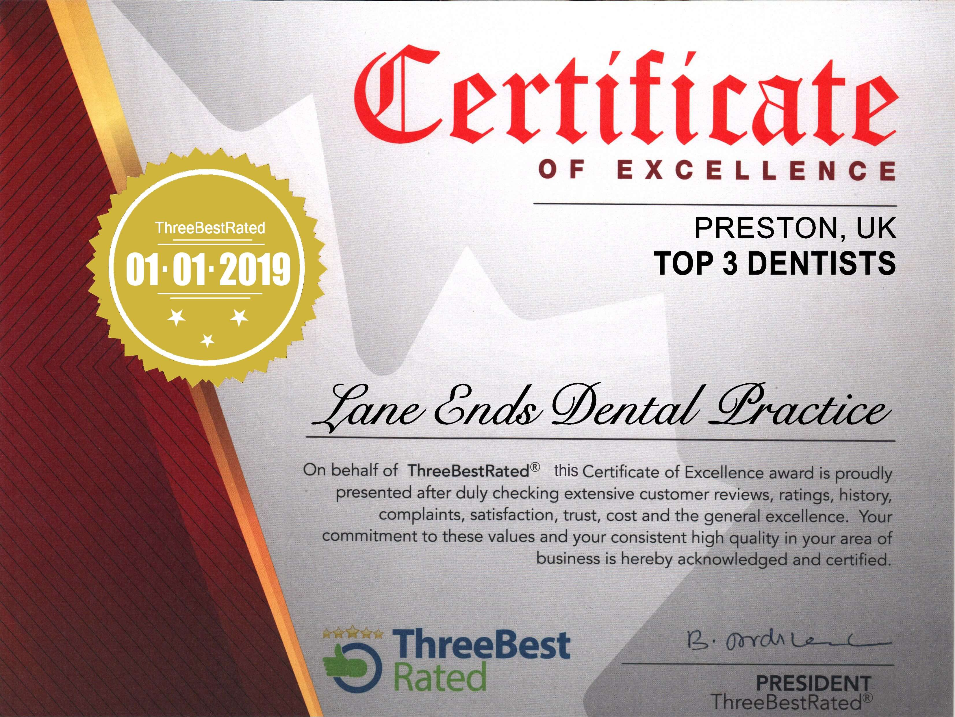 Best Gentle dentist in Lancashire