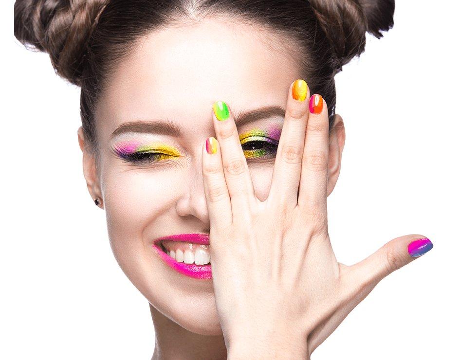 Девушки с ногтями пнг